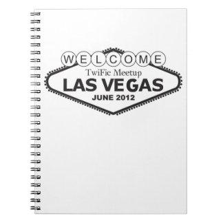 WELCOME TwiFic Meetup LAS VEGAS Notebook