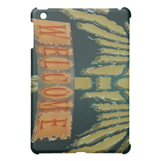 Welcome : Vintage EmeralGold Stones iPad Mini Cases