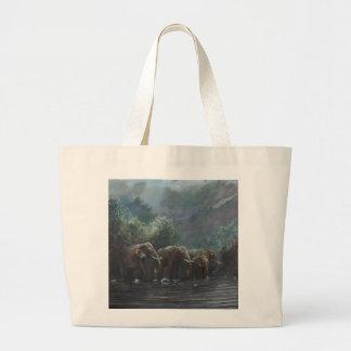 Welcome Waters 1990 Jumbo Tote Bag