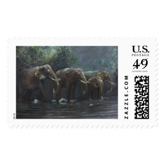 Welcome Waters 1990 Postage Stamp