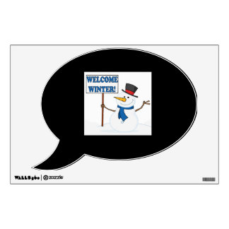 Welcome Winter Wall Decals