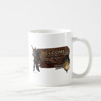 Welcome young hunters, to Monster Hunter Tri! Coffee Mug