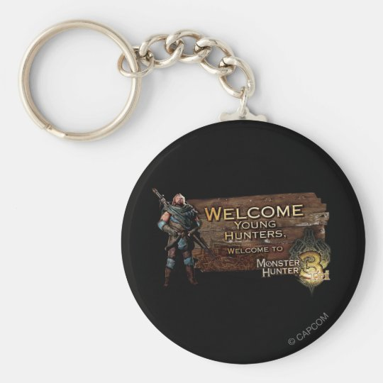Welcome young hunters, to Monster Hunter Tri! Keychain