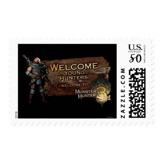 Welcome young hunters, to Monster Hunter Tri! Postage