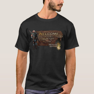 Welcome young hunters, to Monster Hunter Tri! T-Shirt