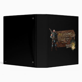 Welcome young hunters, to Monster Hunter Tri! Vinyl Binders