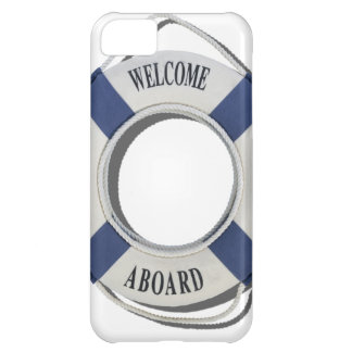 WelcomeAboardLifePreserver071812.png iPhone 5C Cover