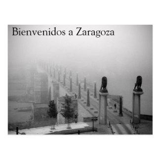 Welcomes to Saragossa Postcard