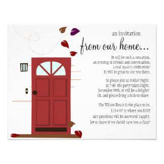 WElcoming Doors Invitations