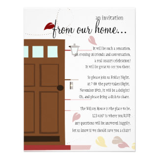 WElcoming Doors Personalized Invites