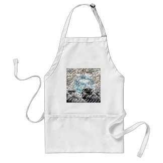 Welcoming fire adult apron