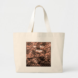 Welcoming fire canvas bag