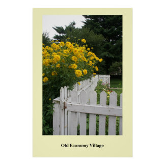 Welcoming Flowers Poster