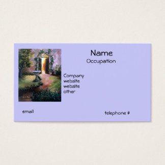 Welcoming Light Business Cards