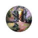 Welcoming Light Wall Clock