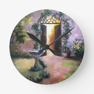Welcoming Light Wall Clock