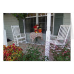 Welcoming Porch, Hospitality Greeting Card