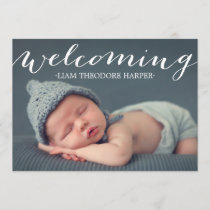Welcoming Script | Birth Announcement