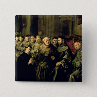 Welcoming St. Bonaventure into the Franciscan Button