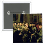 Welcoming St. Bonaventure into the Franciscan 2 Inch Square Button
