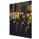 Welcoming St. Bonaventure into the Franciscan Stretched Canvas Prints