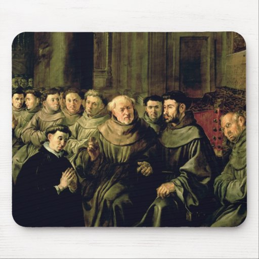 Welcoming St. Bonaventure into the Franciscan Mouse Pads