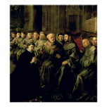 Welcoming St. Bonaventure into the Franciscan Poster