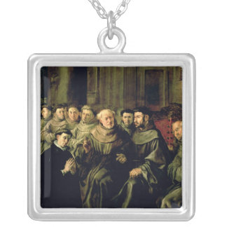 Welcoming St. Bonaventure into the Franciscan Silver Plated Necklace