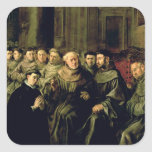 Welcoming St. Bonaventure into the Franciscan Stickers