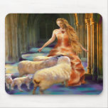 Welcoming the Lambs Mousepad