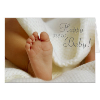 Welcoming the New Baby Card