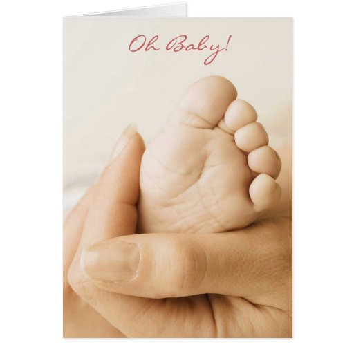 Welcoming the New Baby Greeting Card