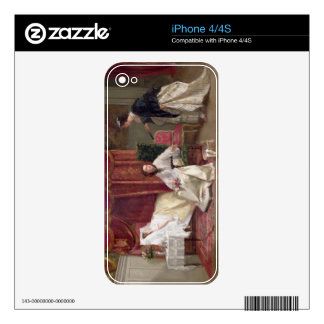 Welcoming the Visitor, 1867 (oil on canvas) Decals For The iPhone 4S