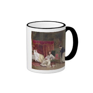 Welcoming the Visitor, 1867 (oil on canvas) Coffee Mugs