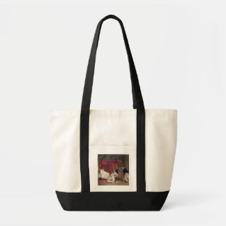 Welcoming the Visitor, 1867 (oil on canvas) Tote Bag