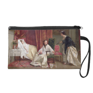 Welcoming the Visitor, 1867 (oil on canvas) Wristlet Purse