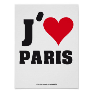 WELCOMO TO PARIS POSTER