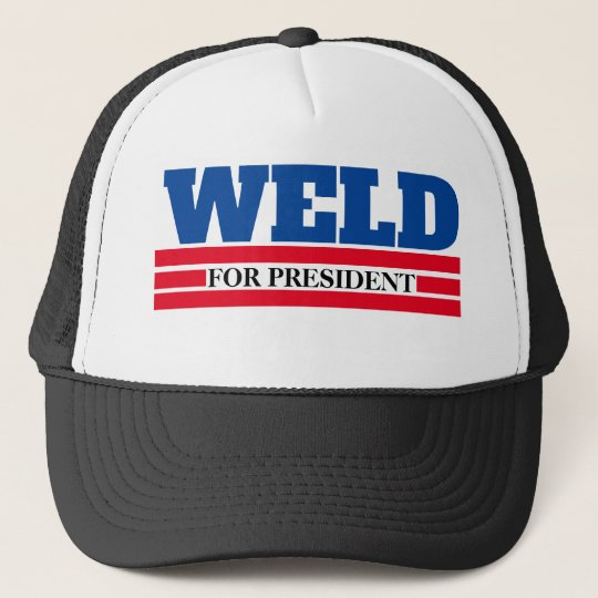 d7344e9c119 WELD for President 2020 Trucker Hat