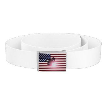 Welder & American Flag Belt