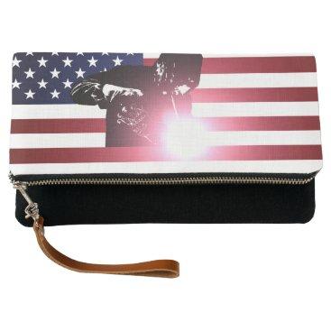 Welder & American Flag Clutch