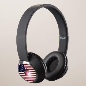 Welder & American Flag Headphones