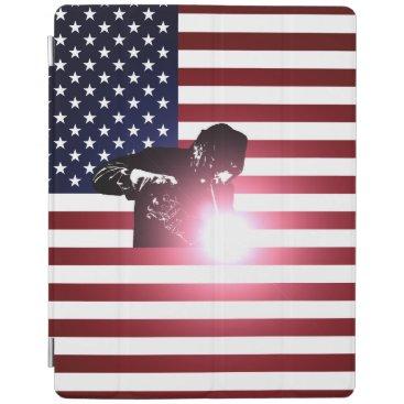 Welder & American Flag iPad Smart Cover