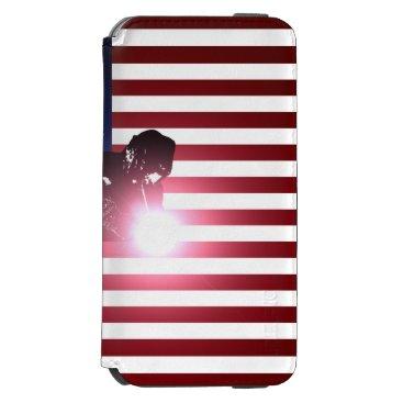 Welder & American Flag iPhone 6/6s Wallet Case