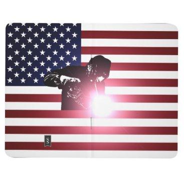 Welder & American Flag Journal
