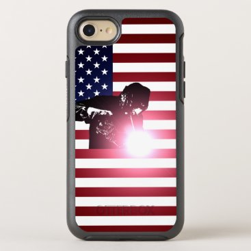 Welder & American Flag OtterBox Symmetry iPhone 8/7 Case