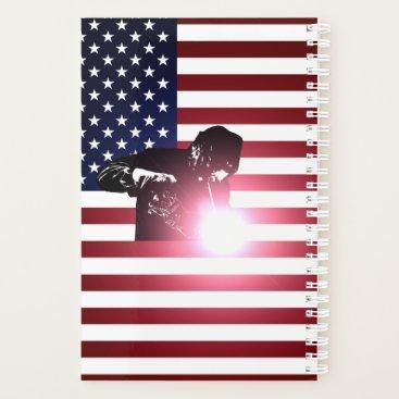 Welder & American Flag Planner
