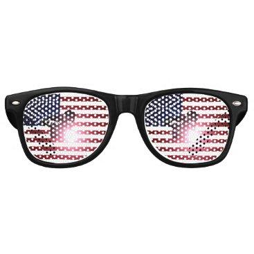 Welder & American Flag Retro Sunglasses
