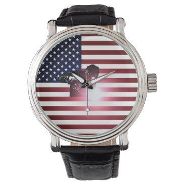 Welder & American Flag Watch
