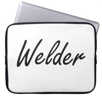 Welder Artistic Job Design Computer Sleeves