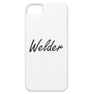 Welder Artistic Job Design iPhone 5 Case